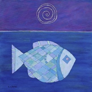 C1266D - Craig, Casey - Fish With Spiral Moon