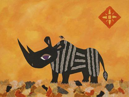 C1269D - Craig, Casey - Rhino with Summer Sky