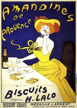 C1270D - Cappiello, Leonetto - Amandines de Provence, 1900