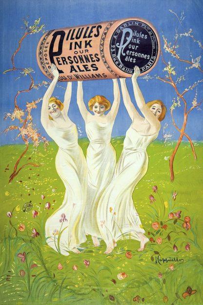 C1271D - Cappiello, Leonetto - Pilules Pink pour personnes p‰les, 1910