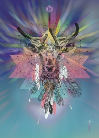 R1267D - Roberts, Karin - Cosmic Deer