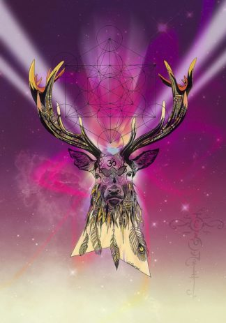 R1274D - Roberts, Karin - Cosmic Stag