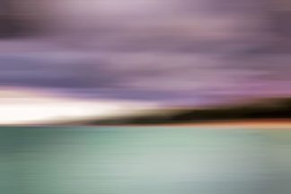R1292D - Romanowicz, Adam - Turquoise Waters Blurred Abstract