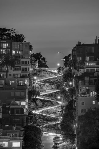 G2066D - Getty, Bruce - Lombard Street BW