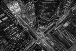 G2068D - Getty, Bruce - New York City Looking Down