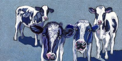 W1083D - Wronski, Kathryn - Four Cows