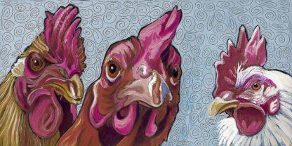 W1087D - Wronski, Kathryn - Three Chicks
