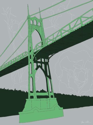 D2047D - Donahue, Shane - St. Johns Bridge - Portland
