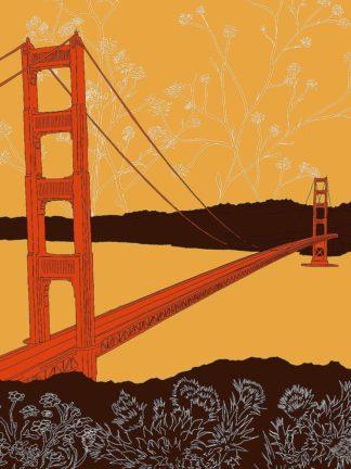 D2049D - Donahue, Shane - Golden Gate Bridge - Headlands