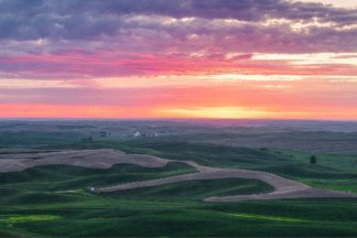 G1069D - Getty, Bruce - Palouse Sunset