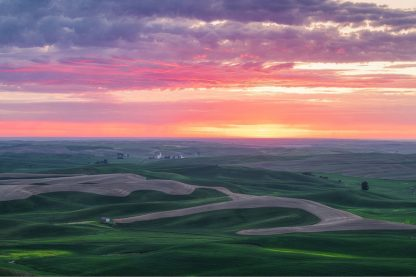 G1069D - Getty, Bruce - Palouse Sunset
