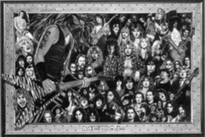 T683 - Teman, Howard - Heavy Metal Collage