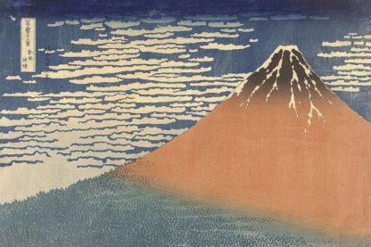 H1683D - Hokusai, Katsushika - Fine Wind, Clear Morning (Gaifu Kaisei), 1832