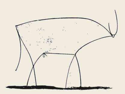 P1193D - Picasso, Pablo - Le Taureau (Bull) - Plate XI, 1946