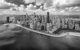 R1325D - Romanowicz, Adam - Chicago Gold Coast Panoramic