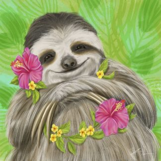 W1112D - Warren, Shari - Smiling Sloth