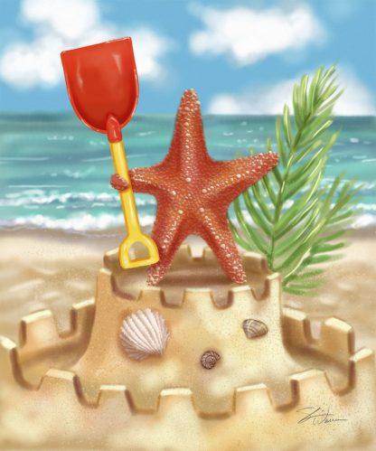 W1115D - Warren, Shari - Beach Friends - Starfish