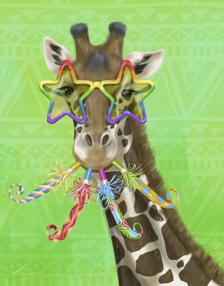 W1116D - Warren, Shari - Party Safari Giraffe