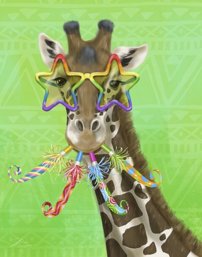 W1116D - Warren, Shari - Party Safari Giraffe