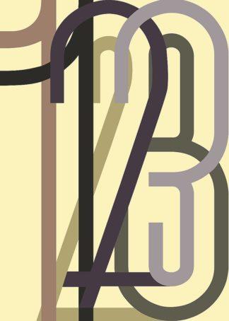 MF969-1635 - Design Fabrikken - Numbers 1