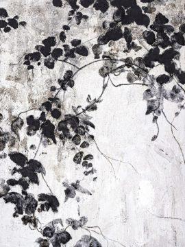 MF969-1645 - Design Fabrikken - Black Leaves