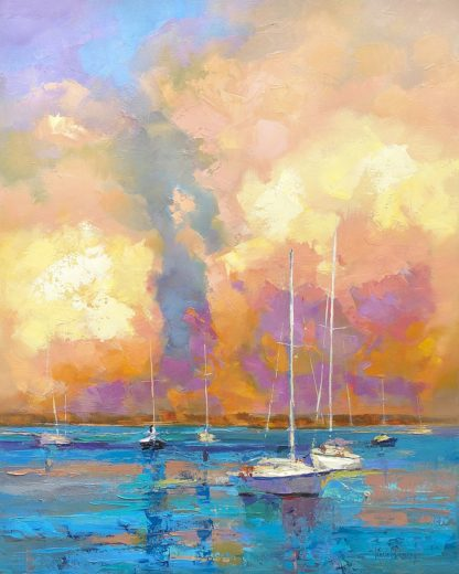 B3899D - Bruniany, Kasia - Evening On The Bay