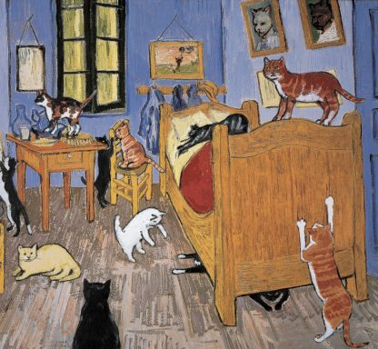 C1297D - Chameleon Design, Inc. - Van Gogh Arles Cat