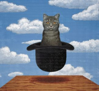 C1301D - Chameleon Design, Inc. - Magritte Cat