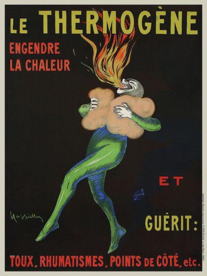 C1308D - Cappiello, Leonetto - Thermogne Warms You Up, 1909