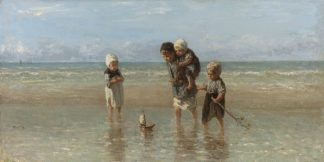 I186D - Isra'ls, Jozef - Children of the Sea, 1872