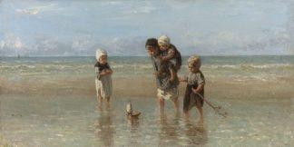 I186D - Isra'ls, Jozef - Children of the Sea, 1872