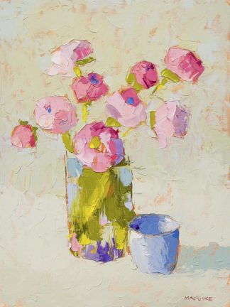 M1713D - Maguire, Carol - Bouquet With Blue Cup