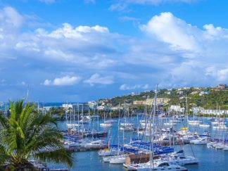 R1332D - Reed, Jack - Oyster Pond Bay, St. Maarten