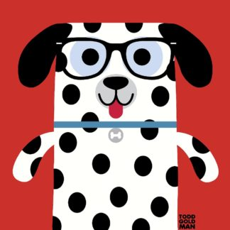 T701D - Todd Art - Bow Wow Dalmation