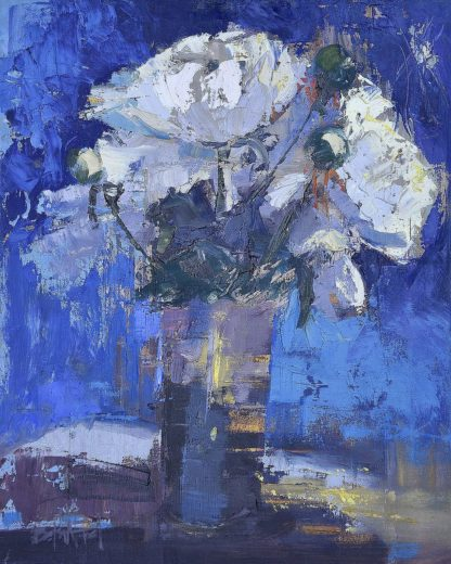 F804D - Forst, Beth A. - White Peonies