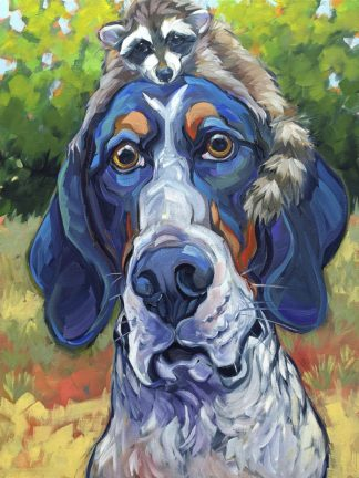 T721D - Townsend, CR - Coonhound