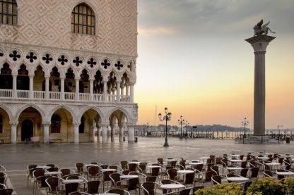 B4006D - Blaustein, Alan - Piazza San Marco Sunrise #4