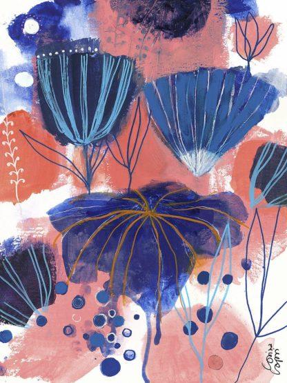 C1322D - Capri, Corina - Blumen Blues