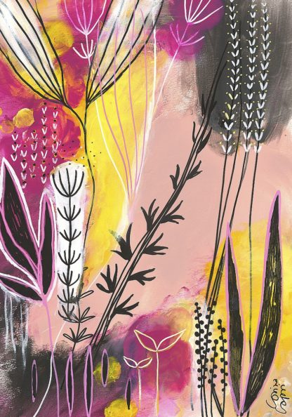 C1324D - Capri, Corina - Spring In Pink