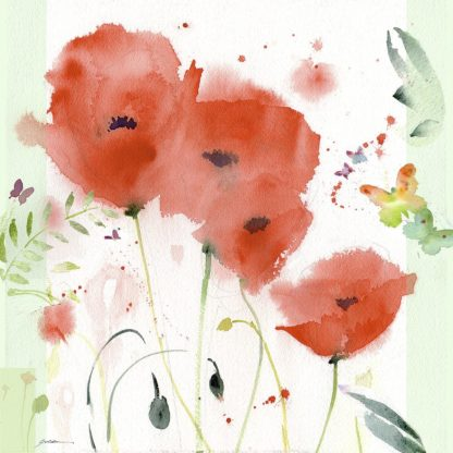 G2123D - Golden, Sheila - Poppies Chinoise