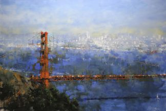 L941D - Lague, Mark - Golden Gate Afternoon