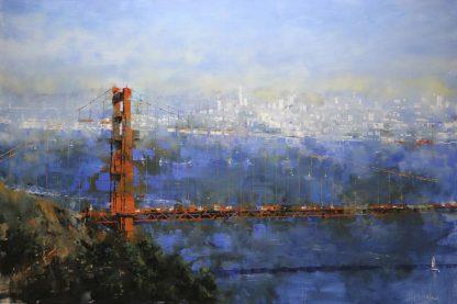 L941D - Lague, Mark - Golden Gate Afternoon