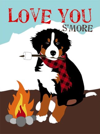 O416D - Oliphant, Ginger - Bermese Mountain Dog - Love Your S'More