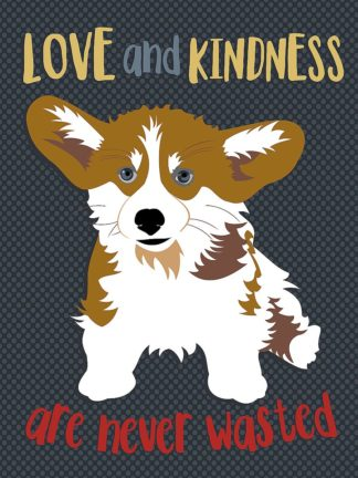O418D - Oliphant, Ginger - Corgi Love and Kindness