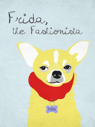 O421D - Oliphant, Ginger - Frida the Fashionista Chihuahua