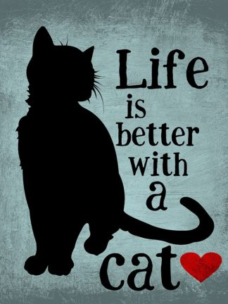 O423D - Oliphant, Ginger - Life is Better with a Cat