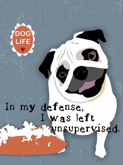 O424D - Oliphant, Ginger - Pug Dog Life