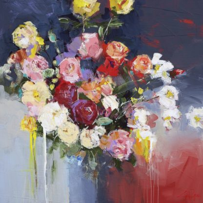 P1204D - Penny, Craig Trewin - White Flowers