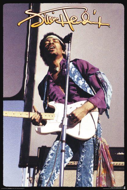 U740 - Unknown - Jimi Hendrix / Purple Shirt