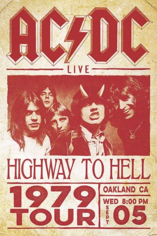 U741 - Unknown - AC/DC (HTH) 1979 Tour